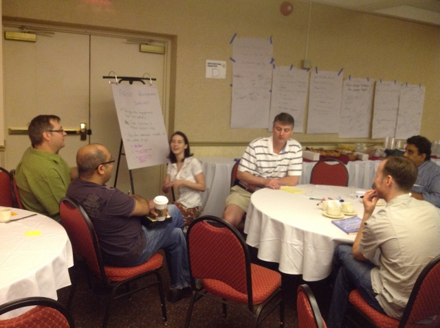 Agile in Professional Services at Agile Coach Camp Canada 2012