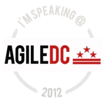 I'm speaking at AgileDC