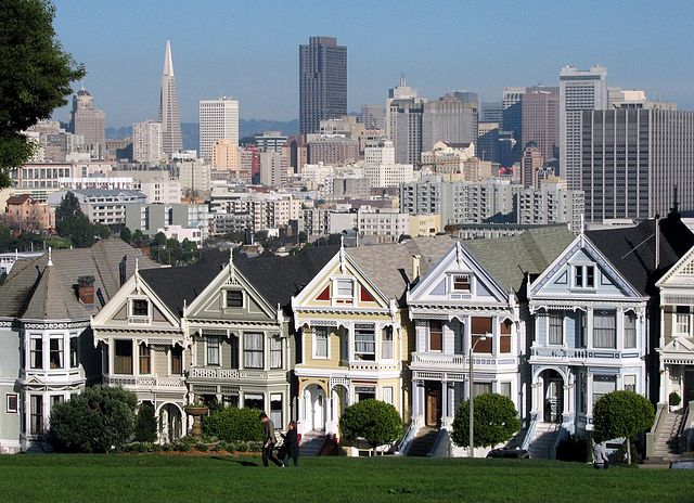 The San Francisco Painted Ladies