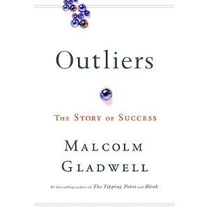 Book cover: Malcolm Gladwell, Outliers