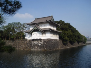 The moat of the Imperial Palace in Tokyo