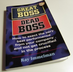 Great Boss Dead Boss book by Ray Immelman